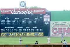 Didn't realize I had been to this Ebbets field, as Engel Staidum was used as a stand-in.  Click on the pic for a great post by Garrett on the Road on the full filming history.